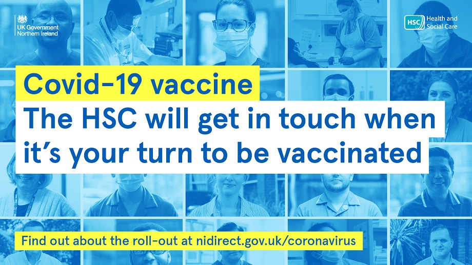 Covid-19 vaccine. the HSC will get in touch when it